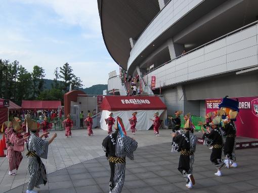 備中たかはし松山踊りと徳島の阿波踊り