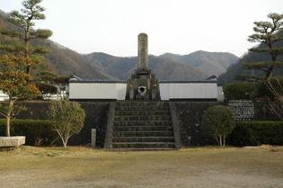 山中鹿之介の墓